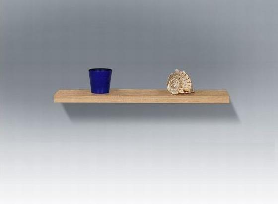 Nástenná Polica 50 Cm - farby dubu, Moderný, kompozitné drevo (50/24/4,4cm)
