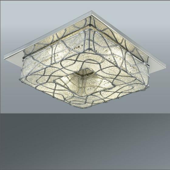 Led Stropná Lampa Marlo - Moderný, umelá hmota/kov (25/25/9cm) - MÖMAX modern living
