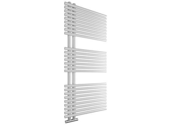 Designbadheizkörper Wien Gebogen, 600x1120mm - Weiß, Metall (60/112/6cm)