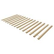 Rollrost 90x200 cm - Buchefarben, Basics, Holz (90/200cm) - Livetastic
