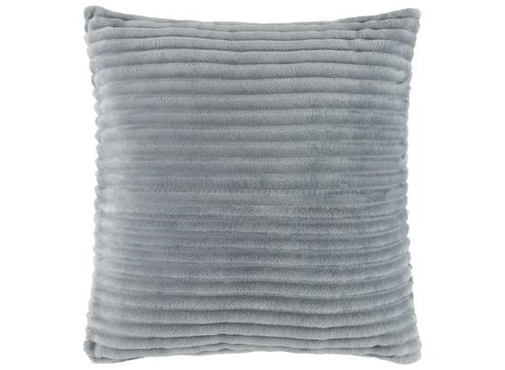 Polštář Ozdobný Flanell Cord - bílá/růžová, textil (45/45cm) - Mömax modern living