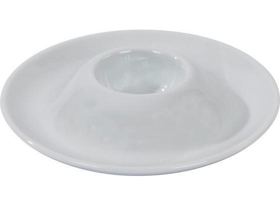 Eierbecher Ireen - Weiß, KONVENTIONELL, Keramik (13,5cm) - Ombra