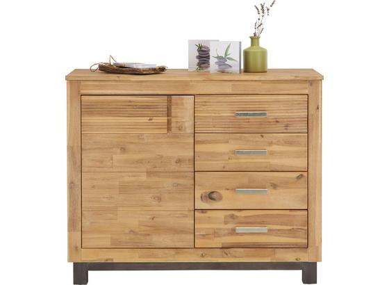 Komoda Aruba - farby akácie, Konvenčný, drevo/kompozitné drevo (110/90/45cm) - Zandiara