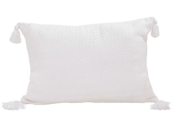 Dekoračný Vankúš Frieda - biela, Moderný, textil (40/60cm) - Mömax modern living