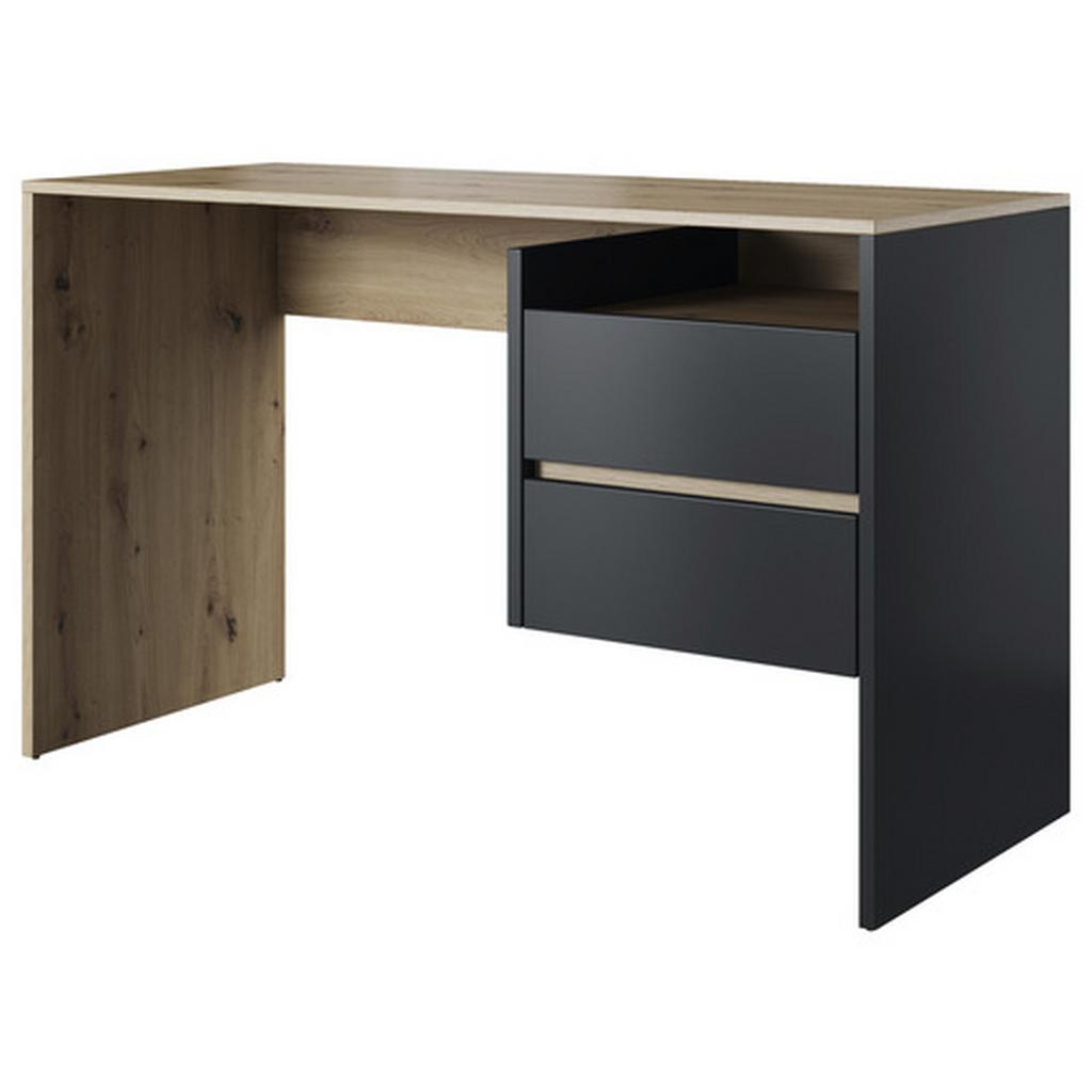 Psací Stůl Paco 3 Dub Artisan/antracit