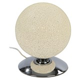 LED-Tischleuchte Dilia - Chromfarben, ROMANTIK / LANDHAUS, Kunststoff/Metall (20/25cm) - JAMES WOOD