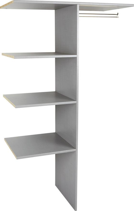 Vnitřní Členění Escape, Level 36 A - šedá, Moderní, dřevo/kompozitní dřevo (100/160/50cm)