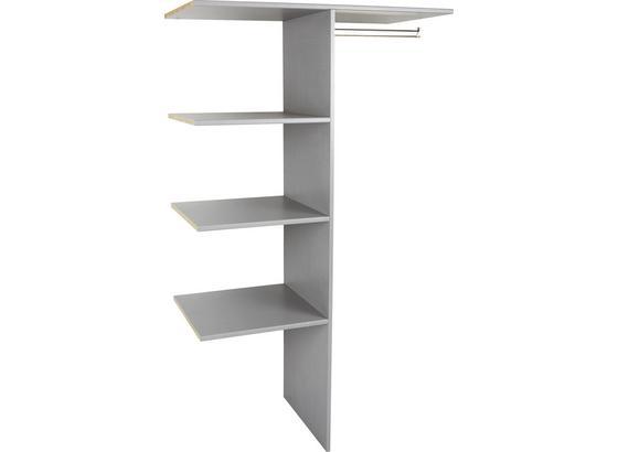 Vnútorné Členenie Escape, Level 36 A - sivá, Moderný, drevo/kompozitné drevo (100/160/50cm)