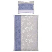 Bettwäsche Olli - Blau/Grau, MODERN, Textil - LUCA BESSONI