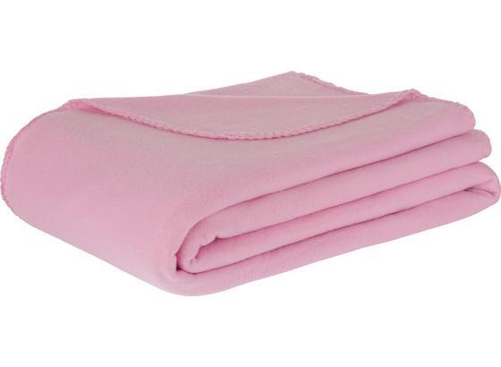 Fleecová Deka Trendix -top- - ružová, textil (130/180cm) - Mömax modern living