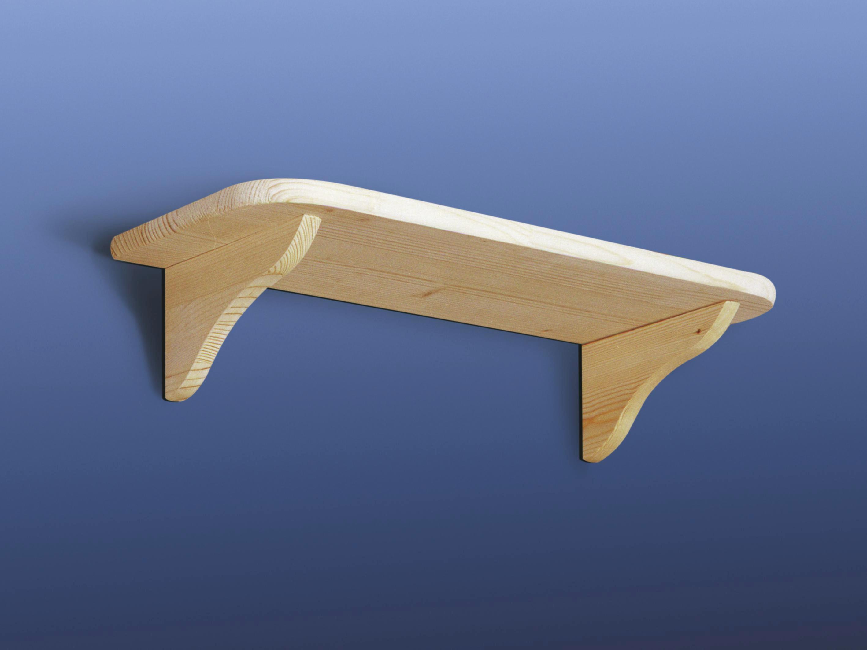 Falipolc Tömör Fenyő - konvencionális (60/20cm)