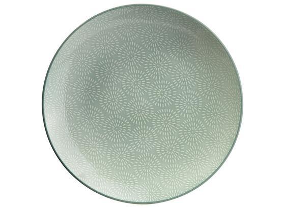 Plytký Tanier Nina - mätovozelená, keramika (26,5cm) - Mömax modern living
