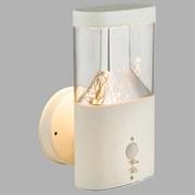 LED-Außenleuchte Accor - Klar/Weiß, MODERN, Kunststoff/Metall (12,6/6,6/23cm)