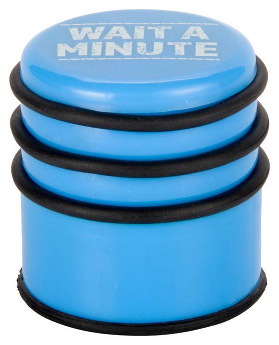 Zarážka Dveřní Amy - modrá/tyrkysová, Lifestyle, kov/umělá hmota (8/8cm) - Mömax modern living