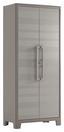Kunststoffschrank Gulliver Multispace 80cm Beige - Sandfarben, KONVENTIONELL, Kunststoff (80/182/44cm) - Keter