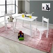 Kindersitzgruppe Bambini 3-teilig Weiß - Weiß, MODERN, Holz/Holzwerkstoff - P & B