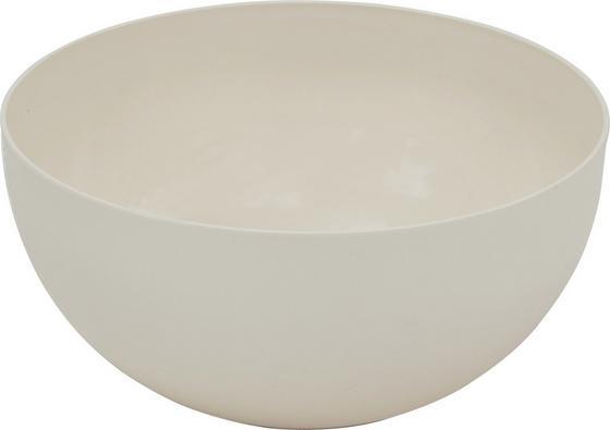 Kunststoff-Schüssel Gusta - Creme, KONVENTIONELL, Kunststoff (15/7,7cm) - James Wood