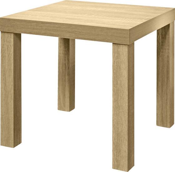 Kisasztal Normen - Sonoma tölgy, modern, faanyagok (39/40/39cm)