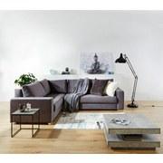 Sedací Souprava Giovanni - šedá/béžová, Moderní, dřevo/textil (217/277cm) - Ombra