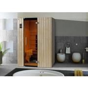 Infrarotkabine Tanilla 2 137x99 - Fichtefarben, MODERN, Glas/Holz (137/190/99cm)