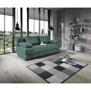 Schlafsofa Clipso B: 212 cm - Mintgrün, Basics, Textil (212/93/90cm) - Ombra
