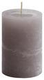 Stumpenkerze Ivonn - Hellgrau, KONVENTIONELL (7/10cm) - Ombra
