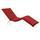 Liegenauflage Premium B: 205 cm Rot - Rot, Basics, Textil (205/8-9/67cm) - Ambia Garden