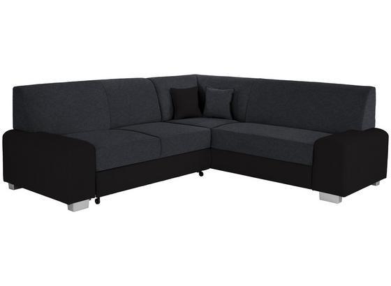 Sedacia Súprava Miami - čierna, Basics, drevo/textil (260/210cm) - Ombra