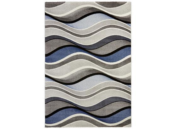 Tkaný Koberec Bill 1 - modrá, Moderný, textil (80/150cm) - Mömax modern living