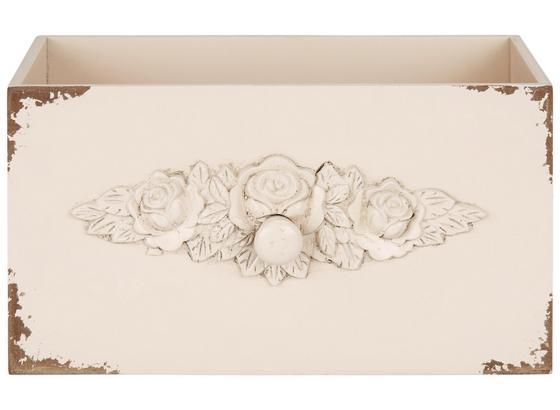 Dekoračná Krabica Schubia - ružová/staroružová, kompozitné drevo (33/18/18cm)