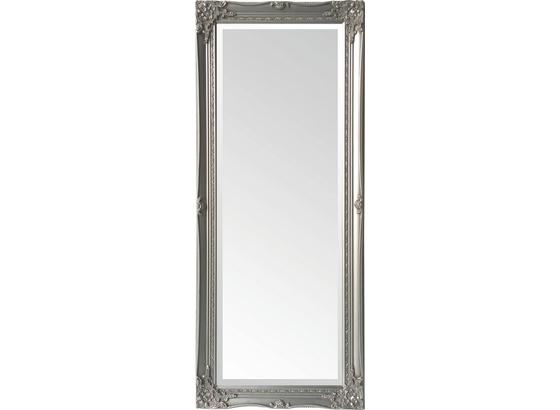 Wandspiegel Antje - Silberfarben, MODERN, Glas/Holzwerkstoff (52/122/5cm)