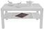 Dohányzóasztal Light - Fehér, modern, Faalapú anyag (90cm)