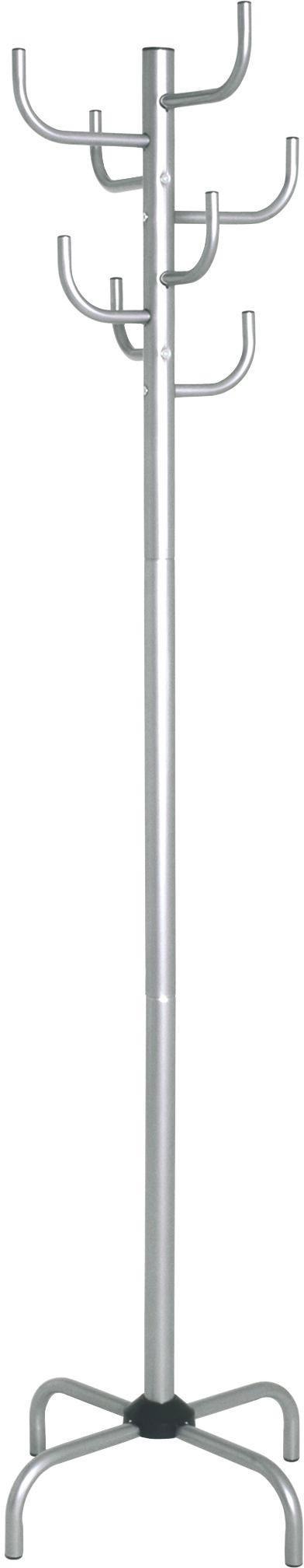 Šatní Stojan Cactus    *cenový Trhák* - barvy hliníku, Moderní, kov (47/180/47cm)