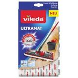 Wischbezug Vileda Ultramat Wischbezug - Rot/Weiß, KONVENTIONELL, Textil (2.5/25.8/14.1cm) - Vileda