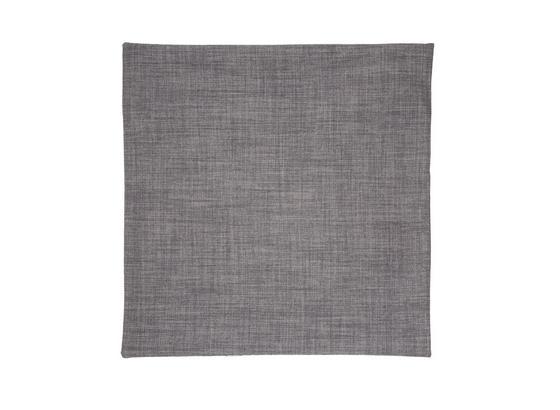 Poťah Na Vankúš Vzhľad Ľanu - sivá, Konvenčný, textil (50/50cm) - Premium Living