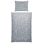 Bettwäsche Irene - Grau, KONVENTIONELL, Textil - Ombra