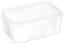 Frischhaltedose 1,3 Liter - Klar, KONVENTIONELL, Kunststoff (12/8,5/18cm)