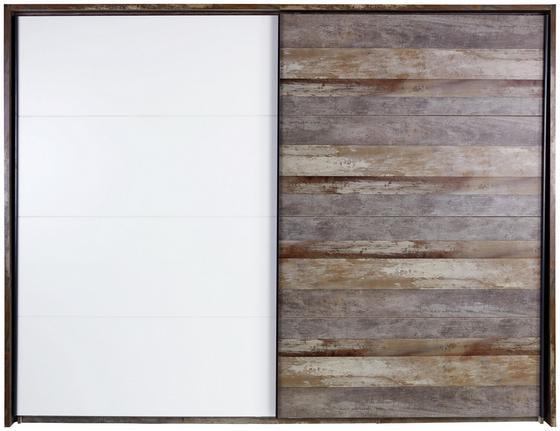 Passepartoutrahmen Moon - Braun/Grau, MODERN, Holzwerkstoff (281/215/17,5cm)