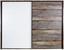 Passepartoutrahmen Moon - Braun/Grau, MODERN, Holzwerkstoff (251/215/17,5cm)