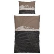 Bettwäsche Safina - Braun/Grau, KONVENTIONELL, Textil - JAMES WOOD