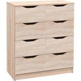 Sideboard Westphalen 18-H B: 80 cm - Sonoma Eiche, Design, Holzwerkstoff (80/91/40cm) - Livetastic