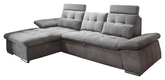 Eck-Sofa in Schlammfarben