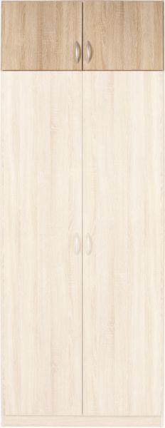 Nadstavec Na Skriňu Karo - Konvenčný, drevo (91/39/54cm)