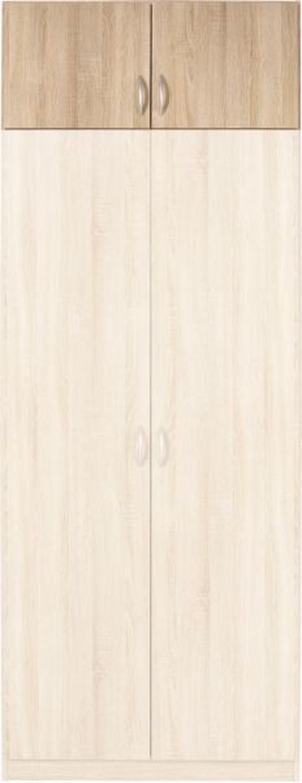 Nástavec Na Skříň Karo - Konvenční, dřevo (91/39/54cm)