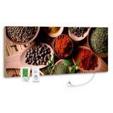 Infrarot-Heizpaneel Spice B: 40 cm - MODERN, Stein (40/100/2cm)
