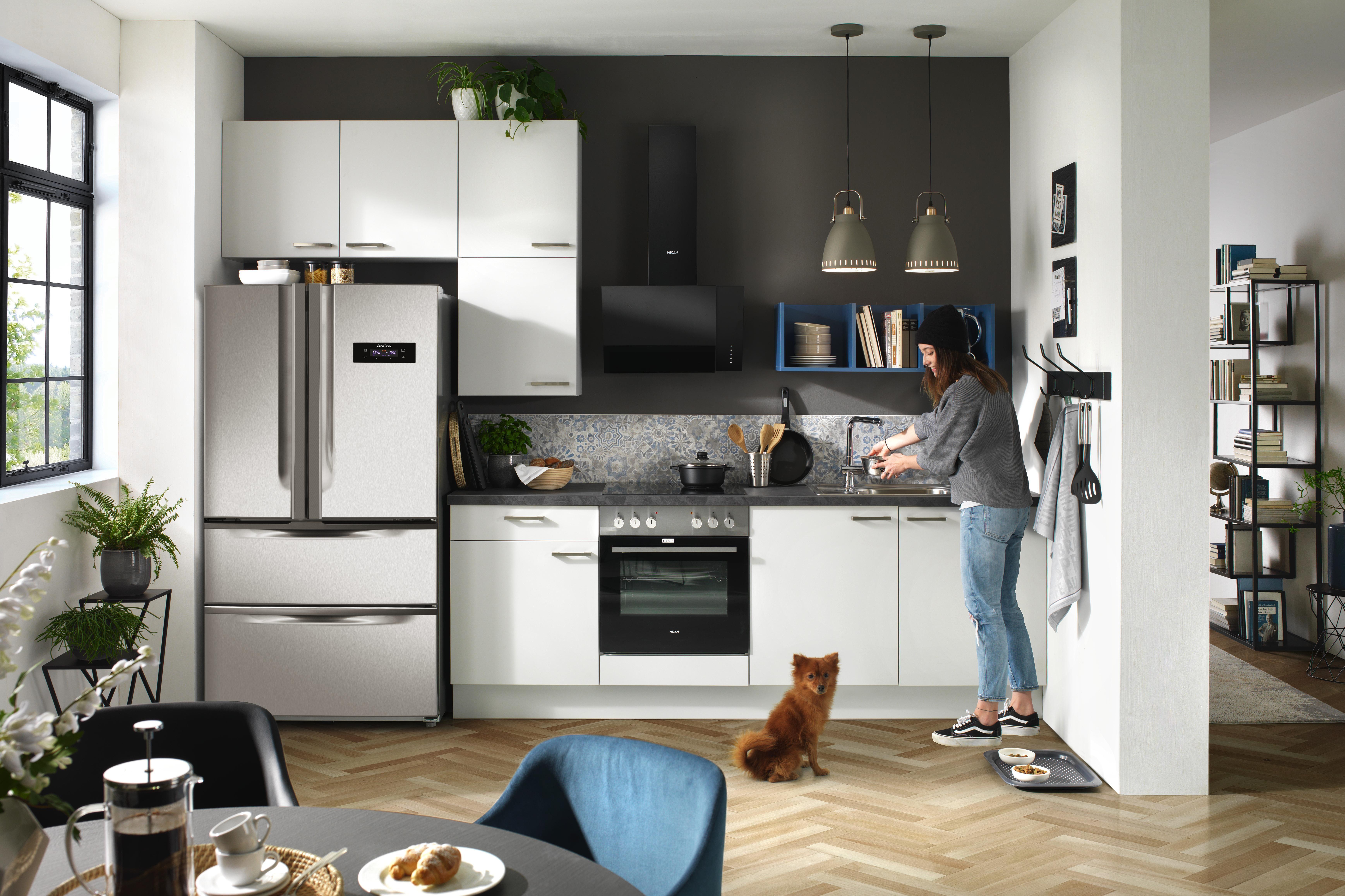Vestavná Kuchyň Pn 80 - Basics (380cm)