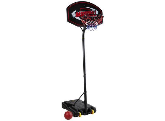 Stojan Na Basketbal Mike -ext- - černá, Basics, umělá hmota (89/322/89cm)