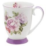 Kaffeebecher Rosabella, ca. 300ml - Multicolor, ROMANTIK / LANDHAUS, Keramik (0,3l) - James Wood