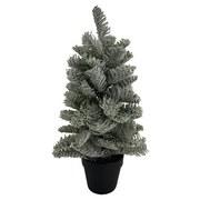 Weihnachtsbaum Basim - Grün, KONVENTIONELL, Kunststoff (17/43cm) - Ombra