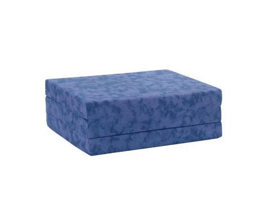 Rozkládací Matrace Billy - modrá, textil (80/190cm)